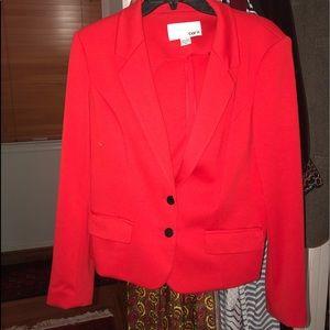 A cute orangish red jacket